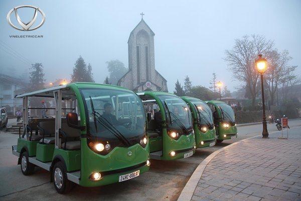 Xe điện là lựa chọn hoàn hảo cho các khu du lịch, resort