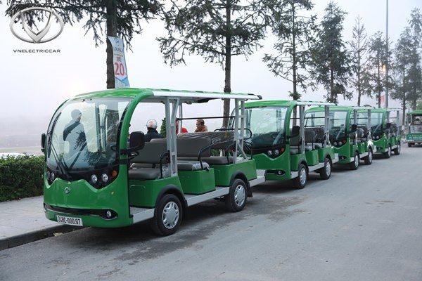 Xe điện Tùng Lâm với thiết kế đẹp, sang trọng
