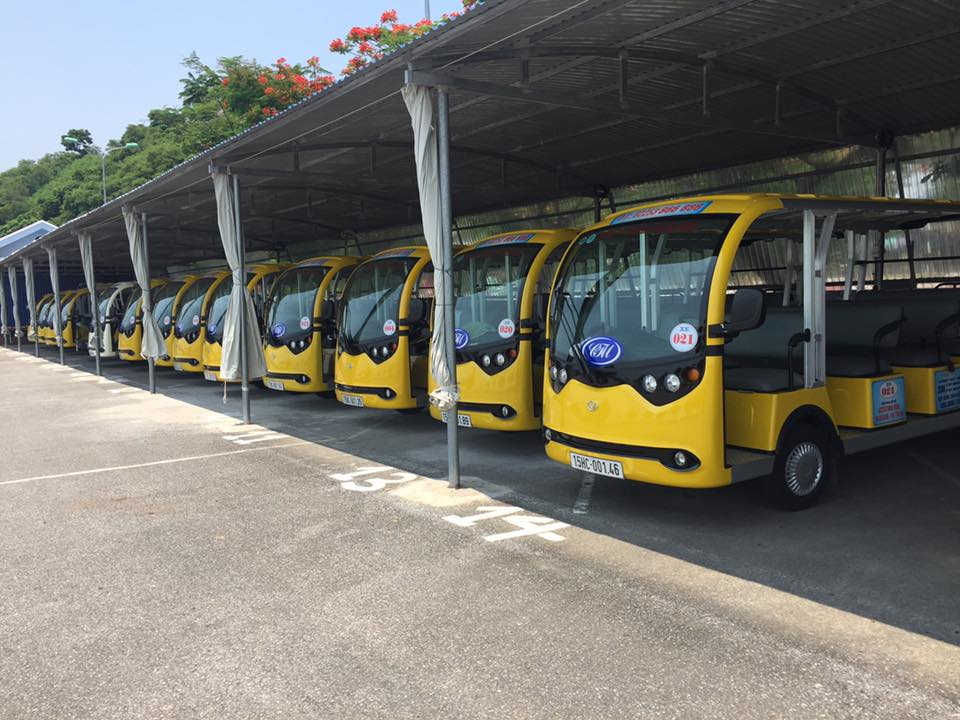 Xe điện 14 chỗ VN Electric Car là dòng xe điện lắp ráp tại Việt Nam