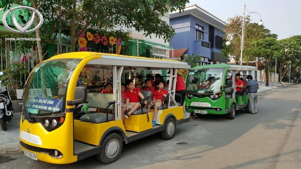 Xe điện VN Electric Car được thiết kế tinh tế với nhiều màu sắc