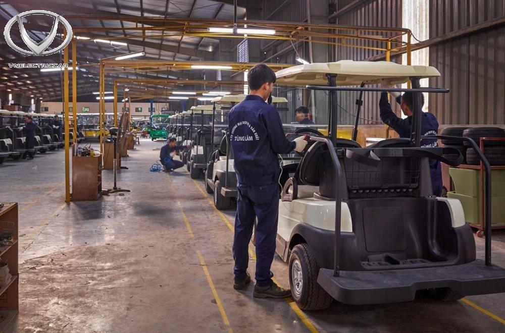 Xưởng lắp ráp và sản xuất xe điện VN Electric Car