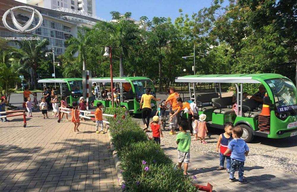 Xe điện của Tùng Lâm được nhiều doanh nghiệp lựa chọn