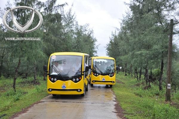 Xe ô tô điện 4 bánh thương hiệu Việt