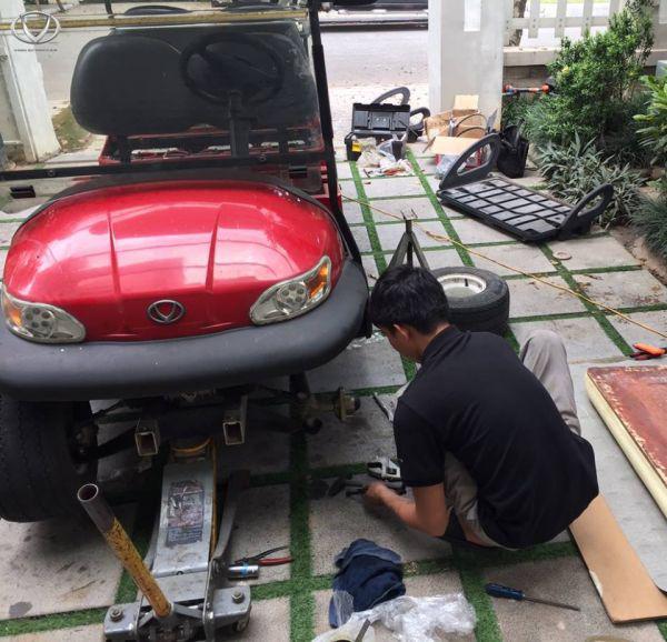 Dịch vụ sửa xe ô tô điện tại nhà của Tùng Lâm