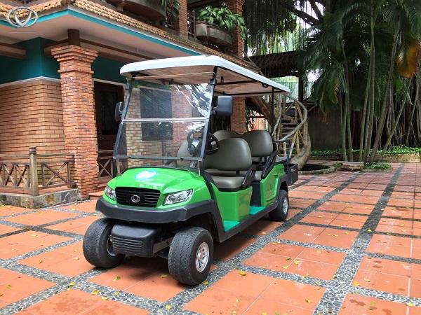 Tùng Lâm cung cấp xe điện cho Resort Phương Nam - Bình Dương