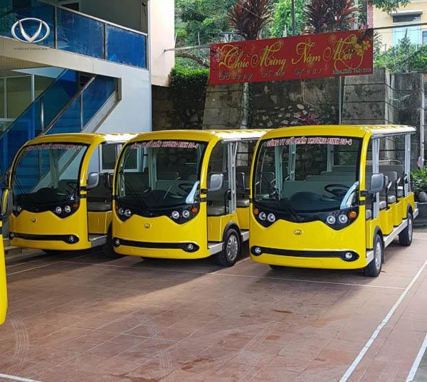 Công ty Cổ phần Thương binh 30/4 Sơn La tin tưởng chọn mua xe điện của Tùng Lâm