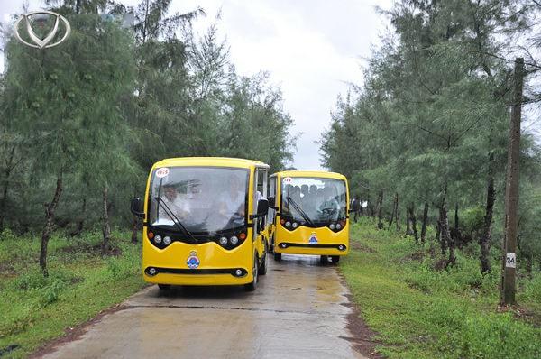 Tại sao nên đầu tư xe điện chở khách tại các khu du lịch tâm linh?