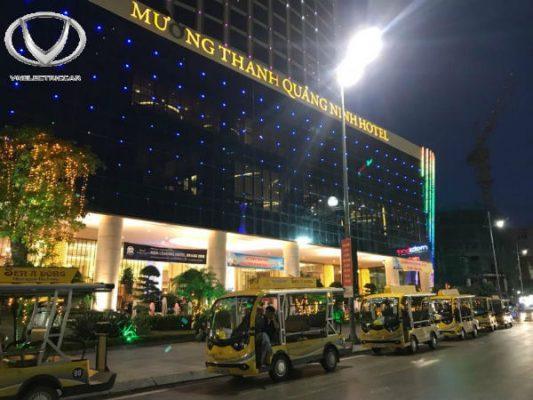 Không phải chờ tới bây giờ, ngay từ 2006, thương hiệu xe ô tô gắn động cơ điện Việt Nam đã được sử dụng
