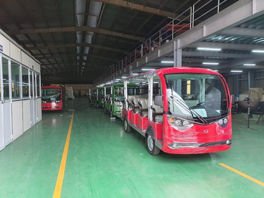 9 xe điện VN Electric Car được bàn giao cho đảo Quan Lạn và Minh Châu, Quảng Ninh