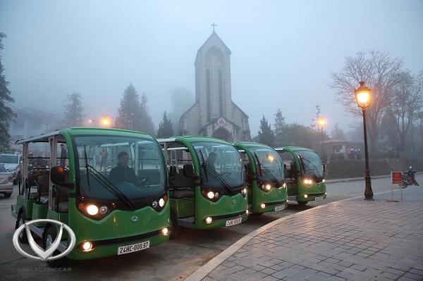 Xe điện 4 bánh - Giải pháp đột phá trong ngành du lịch, dịch vụ tại Việt Nam
