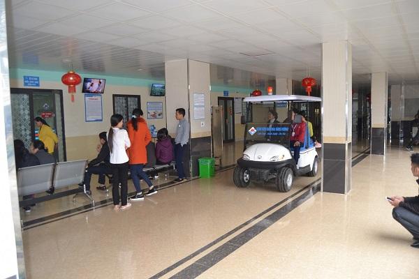Xe ô tô điện - Phương tiện chuyên nghiệp và hiện đại phục vụ bệnh viện