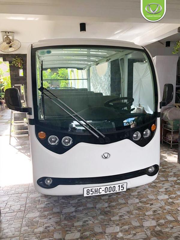 Tùng Lâm bàn giao 2 xe điện du lịch tại Resort Vĩnh Hy, Ninh Thuận