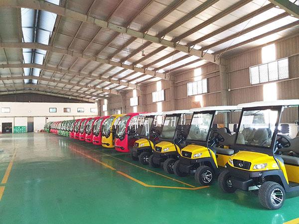 Xe điện VN Electric Car đã có mặt tại The Anam Resort Nha Trang