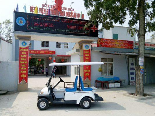 Xe ô tô điện - mang đến hình ảnh chuyên nghiệp cho bệnh viện