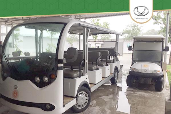 Tùng Lâm bàn giao thành công 8 chiếc xe điện cho Sunset Sanato – Phú Quốc