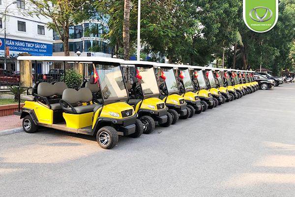 Bàn giao 30 xe điện VNE.CAR S4+2D cho Xí nghiệp tập thể thương binh Quang Minh