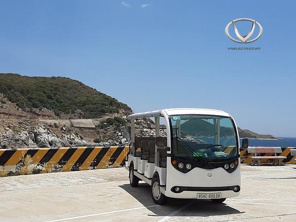 Xe điện du lịch VNE.CAR 14AC i10: Ghi điểm từ hình thức đến chất lượng