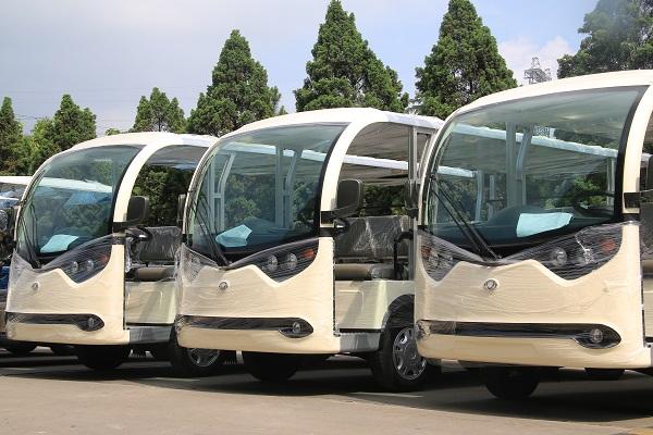 Tùng Lâm bàn giao 22 xe điện cho Công ty TNHH KN Cam Ranh - Khánh Hòa