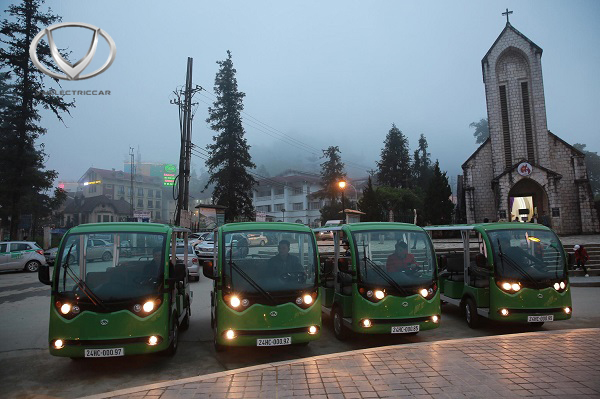 20 xe điện Tùng Lâm được bàn giao cho Công ty TNHH KN Cam Ranh trong lần thứ 2