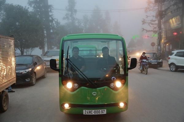 Xe ô tô điện 4 bánh - giải pháp giảm ô nhiễm cho các đô thị lớn