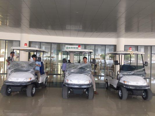 3 xe điện bệnh viện Tùng Lâm có mặt tại Bệnh viện Ung bướu Thanh Hóa