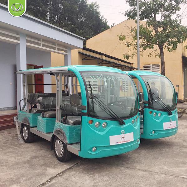 Bàn giao thành công xe điện VNE.CAR 08AC i10 tại Nhà máy thủy điện Tuyên Quang