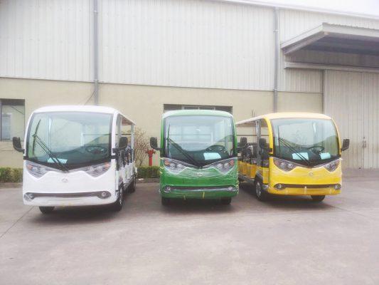 3 xe điện VNE.CAR 14AC i10 Tùng Lâm được bàn giao cho công ty Đại Phát Tín