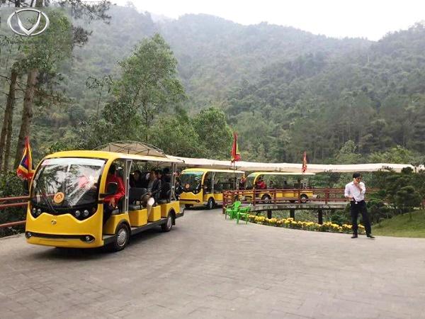 Tùng Lâm xuất 2 xe điện VNE.CAR 14AC i10 cho Công ty Cổ phần Đầu tư & Kinh doanh golf Long Thành