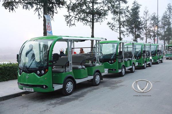 Mẫu xe buggy điện phù hợp sử dụng tại các khu du lịch