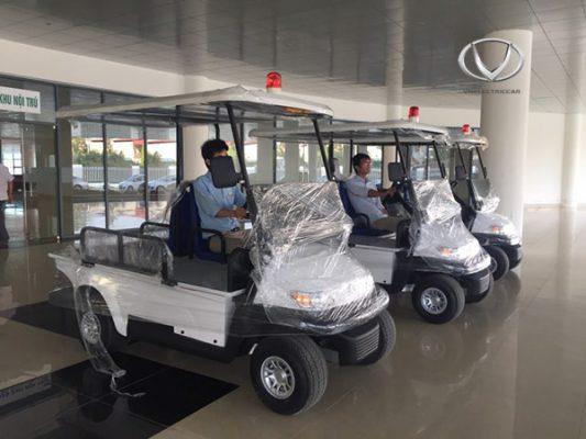 Xe điện bệnh viện Tùng Lâm đồng hành cùng cả nước trong công cuộc chống dịch Covid-19