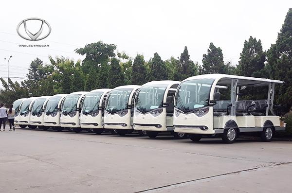 Đa dạng lựa chọn xe điện VN Electric Car cho khu công nghiệp