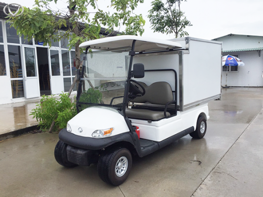 Xe điện VN Electric Car - mang lại hình ảnh hiện đại cho khu công nghiệp