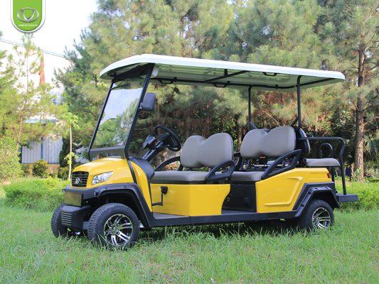 Mẫu xe ô tô điện phù hợp cho sân golf 27 hố