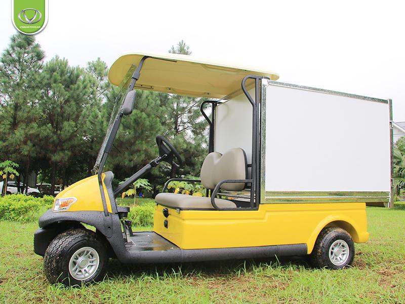 Xe điện chở hàng thùng kín