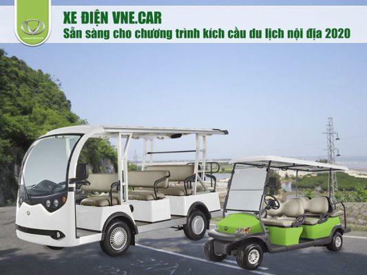 Xe ô tô điện du lịch VNE. CAR sẵn sàng cho chương trình kích cầu du lịch nội địa 2020