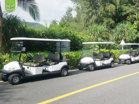 Nâng tầm đẳng cấp cho resort với xe điện chở khách du lịch