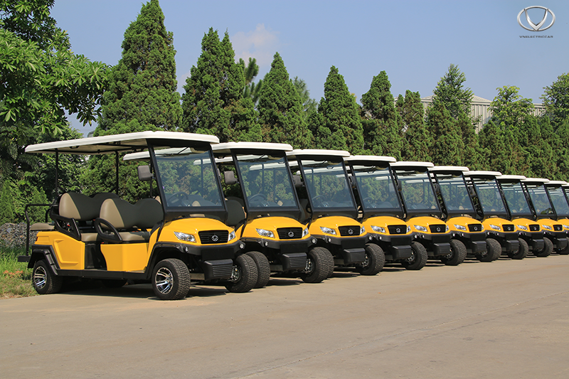Xe điện du lịch - Lựa chọn yêu thích của du khách khi đến Hạ Long