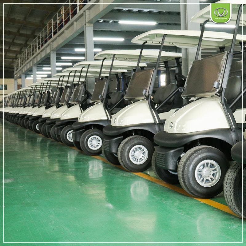 Tùng Lâm bàn giao 25 xe điện VNE.CAR XG cho sân golf Đồng Nai