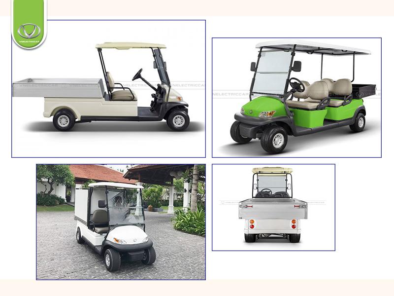 Xe điện 4 bánh chở hàng