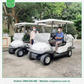 Tùng Lâm bàn giao 2 xe điện 4 chỗ cho Công ty Cổ phần Lâm sản Nam Định